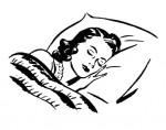 Sleeping-Lady-Retro-Image-GraphicsFairy-1024x806